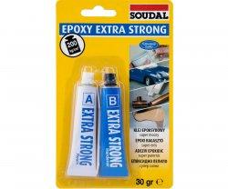 Lepidlo Epoxy Extra Strong 2x15ml Soudal