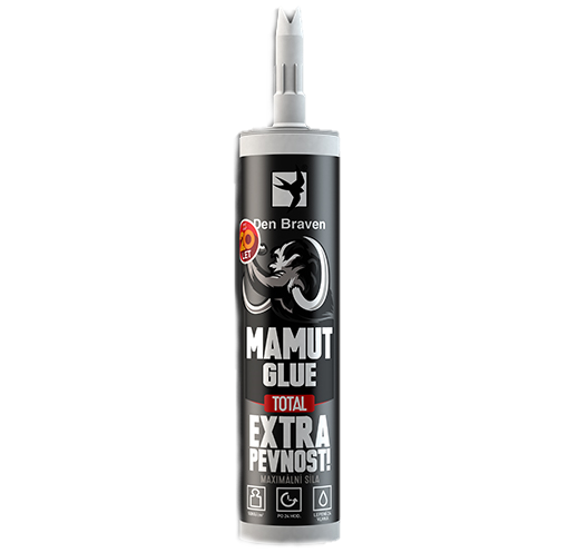 Lepidlo Mamut Glue TOTAL 290ml bílý Den Braven