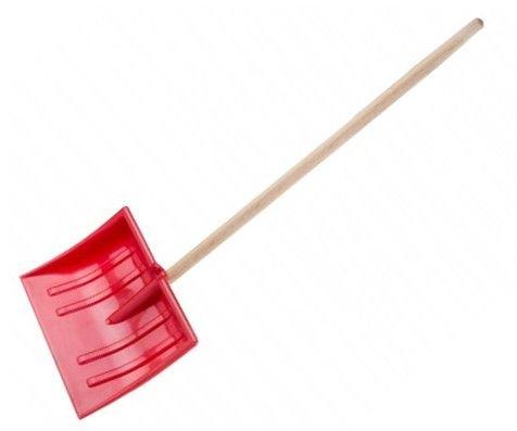 Hrablo dětské 29x22x90cm - červená