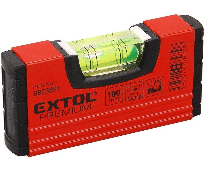Vodováha kapesní 100mm Extol Premium 8823891