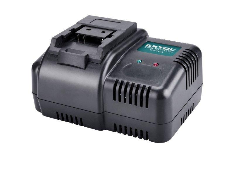 Extol Industrial 8791110A nabíječka 18V Li-Ion