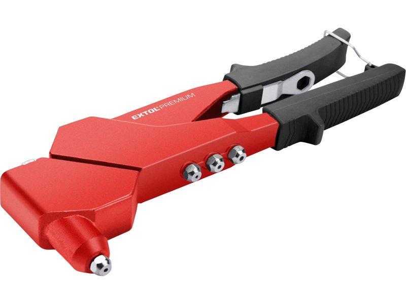 Extol Premium 8813731 pákové nýtovací kleště otočné 280mm