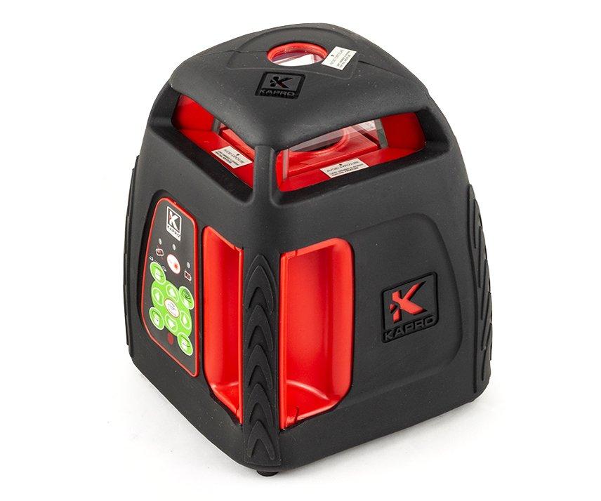 Laser rotační červený v sadě Kapro 899