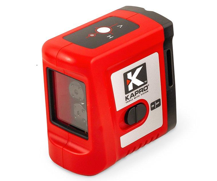 Laser křížový červený Kapro 862 - bez stativu