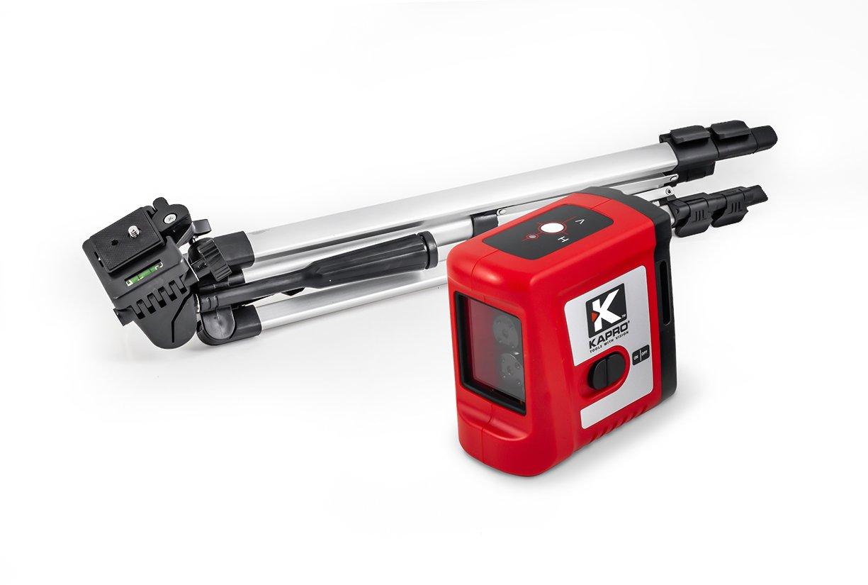 Laser křížový červený Kapro 862 - se stativem