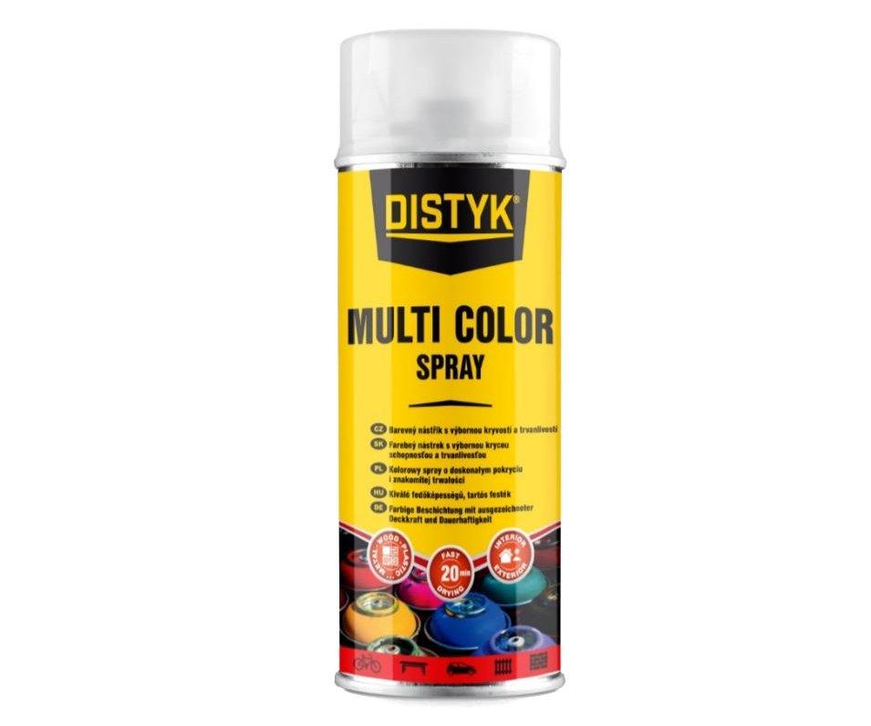 Barva ve spreji 400ml Distyk - RAL 9005 černá