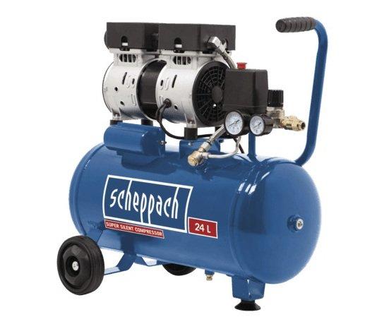 Scheppach HC 24 Si bezolejový kompresor 550W Scheppach