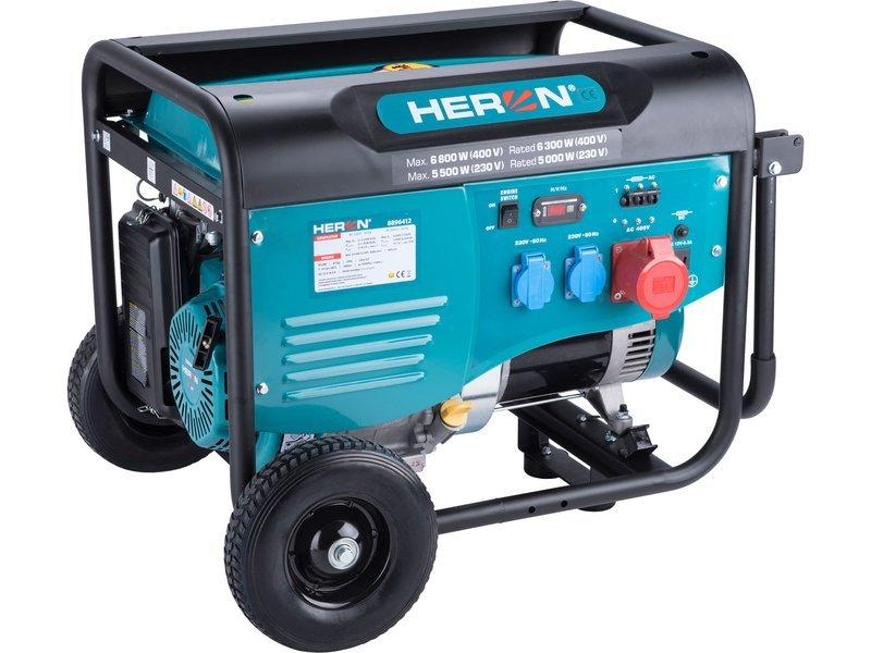 Heron 8896412 elektrocentrála 6kW/2x2,2kW
