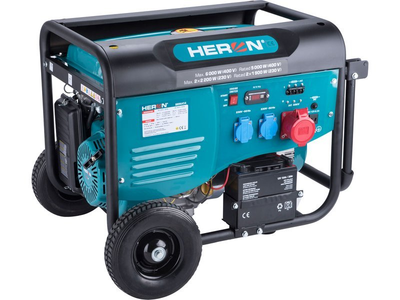Heron 8896414 elektrocentrála 6kW/2x2,2kW