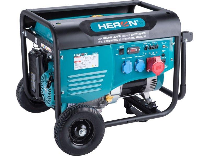 Heron 8896418 elektrocentrála 6,8kW/5,5kW