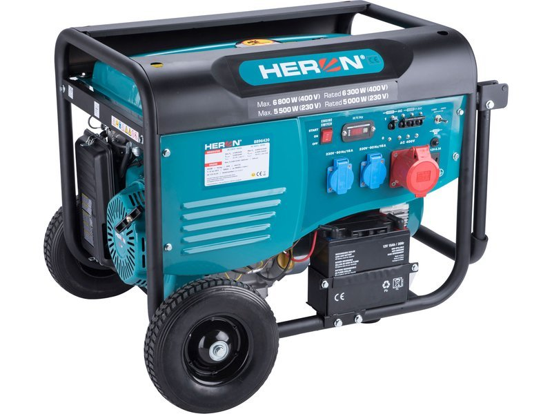 Heron 8896420 elektrocentrála 6,8kW/5,5kW