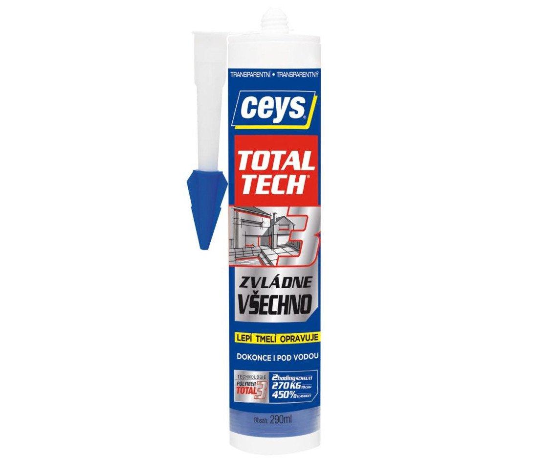Lepidlo Ceys Total Tech - 290ml šedé