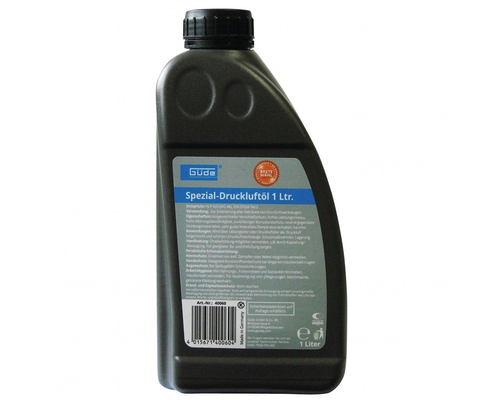 Olej pro pneumatické nářadí 1l Güde 40060