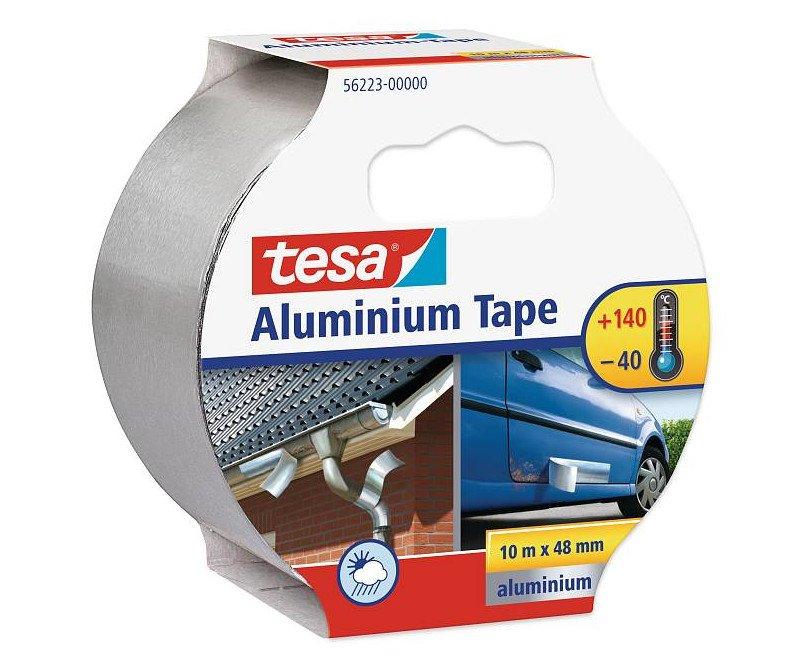 Páska lepicí hliníková 50mm/10m Tesa 56223