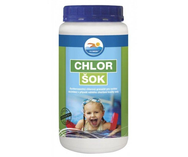 Chlor šok - 1kg