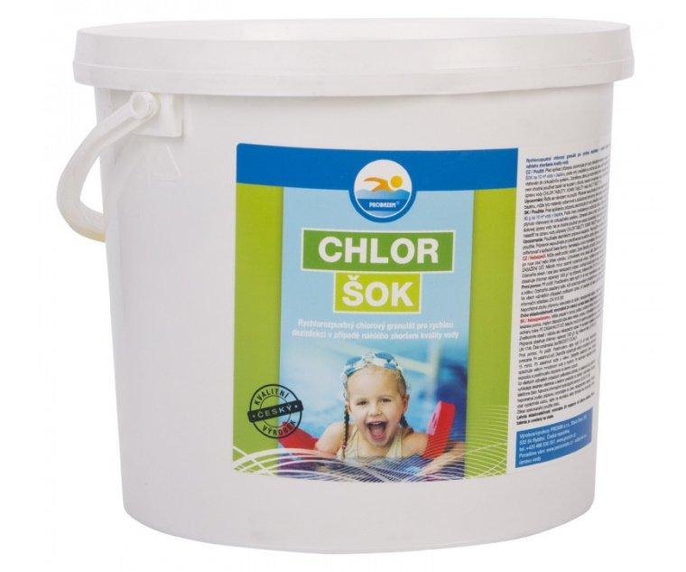 Chlor šok - 5kg