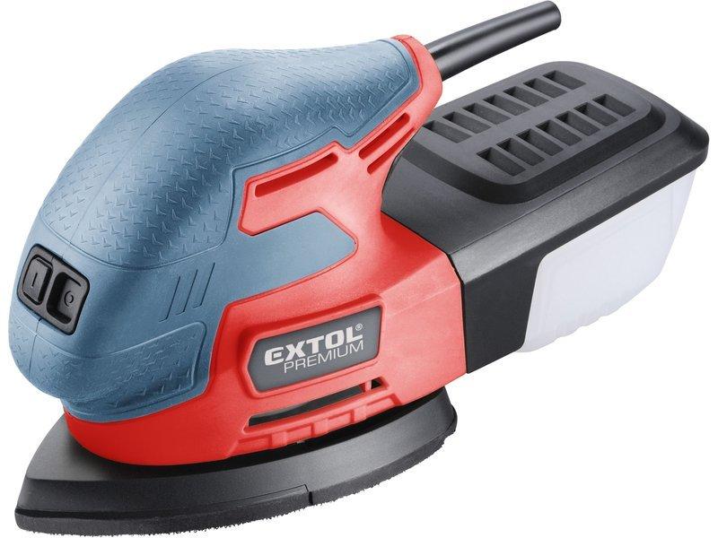 Extol Premium 8894002 vibrační bruska 3v1 220W