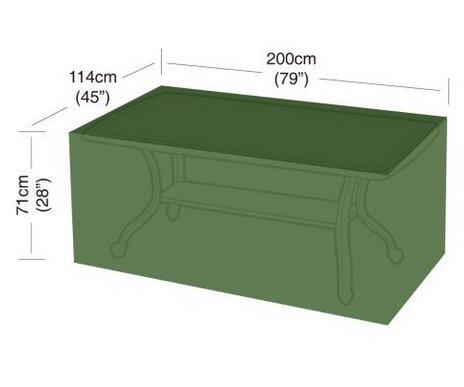 Plachta krycí na zahradní nábytek - 200x114x71cm