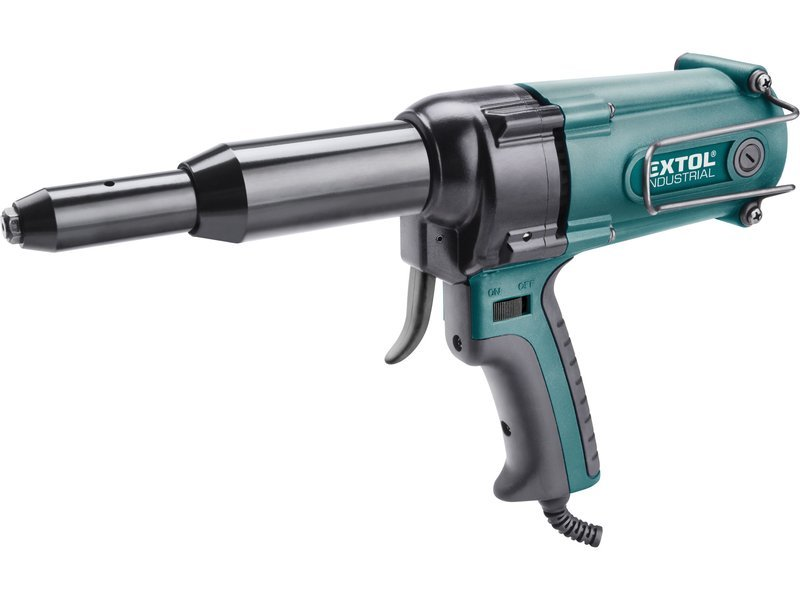 Extol Industrial 8794550 pistole nýtovací 400W 3.2-4.8mm