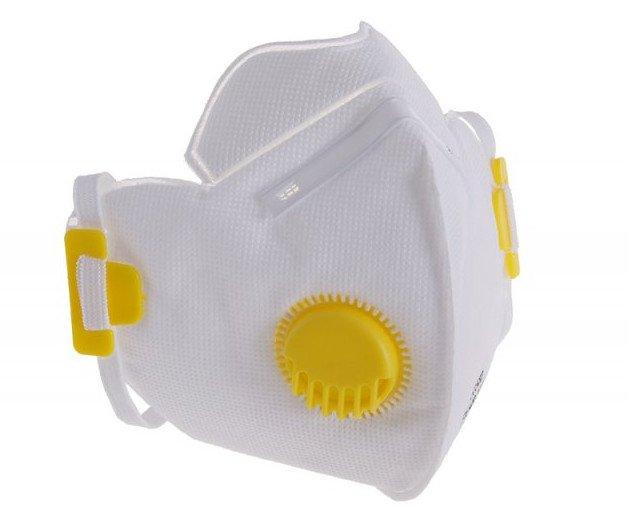 Respirátor FFP2 s výdechovým ventilem