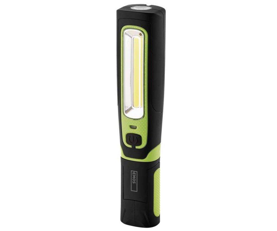 LED svítilna nabíjecí P4532 1W LED + 3W COB LED EMOS