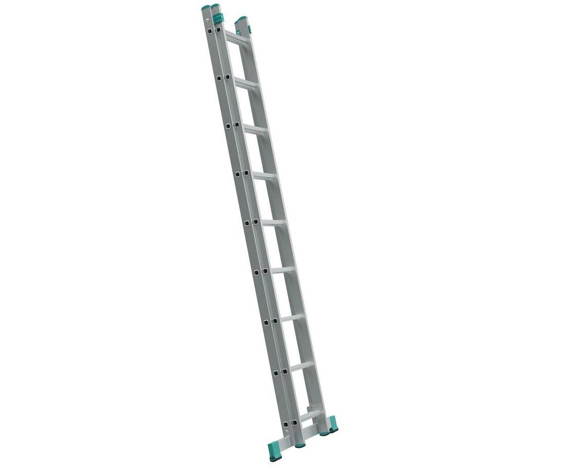 Alve Eurostyl dvoudílný univerzální hliníkový žebřík - 2x11 příček Eurostyl 7511 Alve