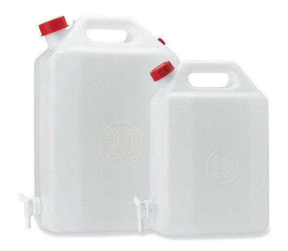 Kanystr na vodu PE s kohoutem - 10l