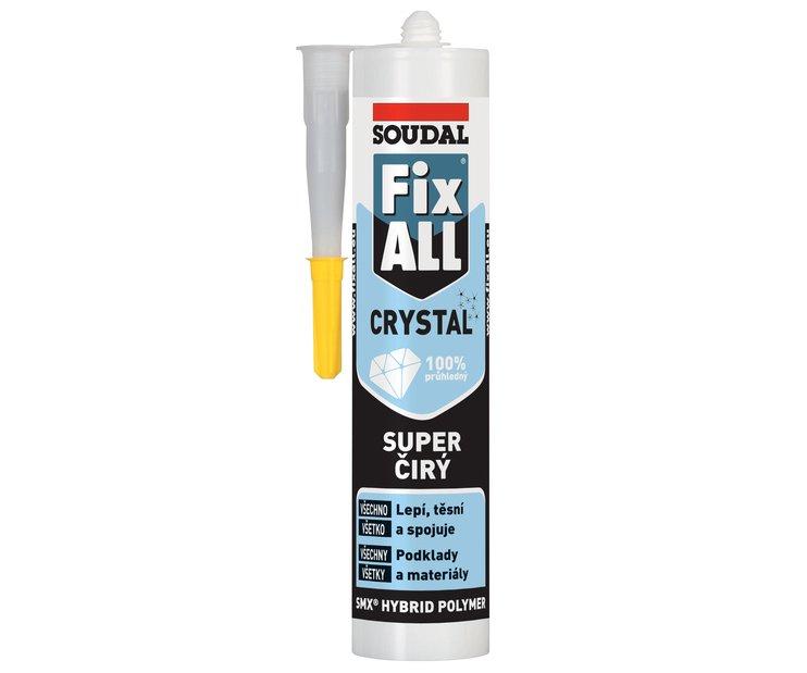 Tmel lepicí Fix All Crystal transparent 290ml Soudal