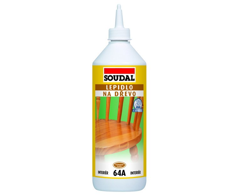 Lepidlo na dřevo 64A rychloschnoucí Soudal - 250g