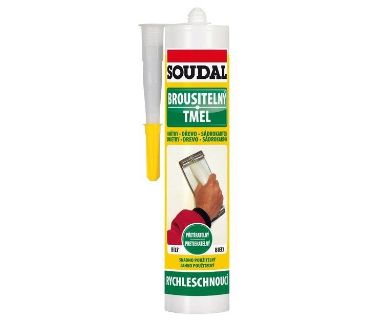 Tmel brousitelný bílý Soudal - 300ml