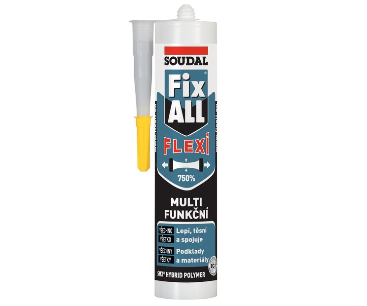Tmel lepicí Fix All Flexi 290ml Soudal - bílý