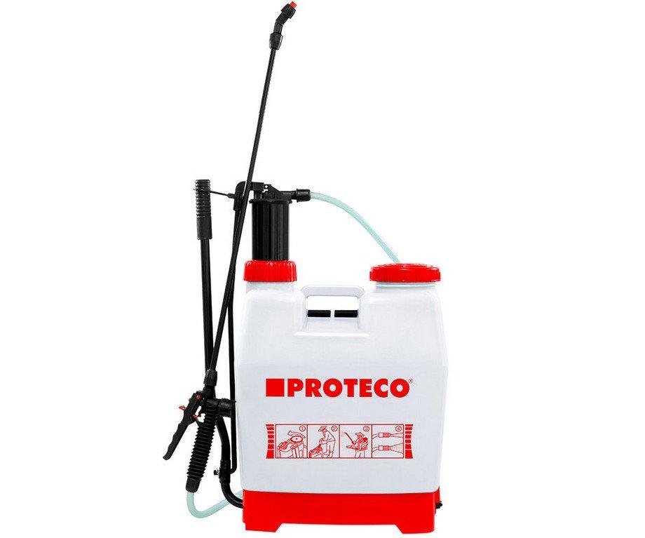 Postřikovač tlakový zádový Proteco - 12l