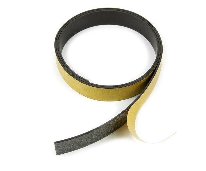 Magnetická samolepicí páska - 10x1,5mm/1m