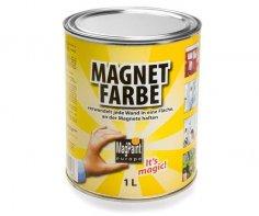 Levně Barva magnetická šedá - 1l