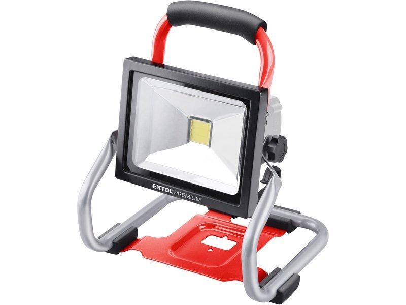 Reflektor aku LED 30W bez aku SHARE20V Extol Premium 8891871