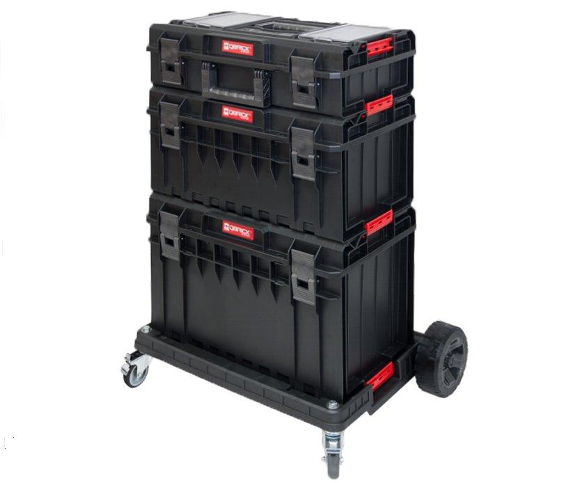 Sada boxů s podvozkem QBrick System ONE Profi