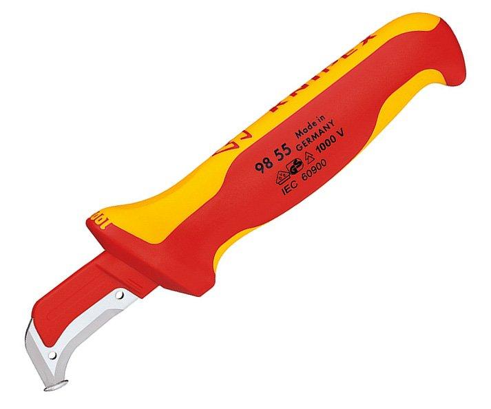 Nůž kabelový odplášťovací VDE Knipex 98 55