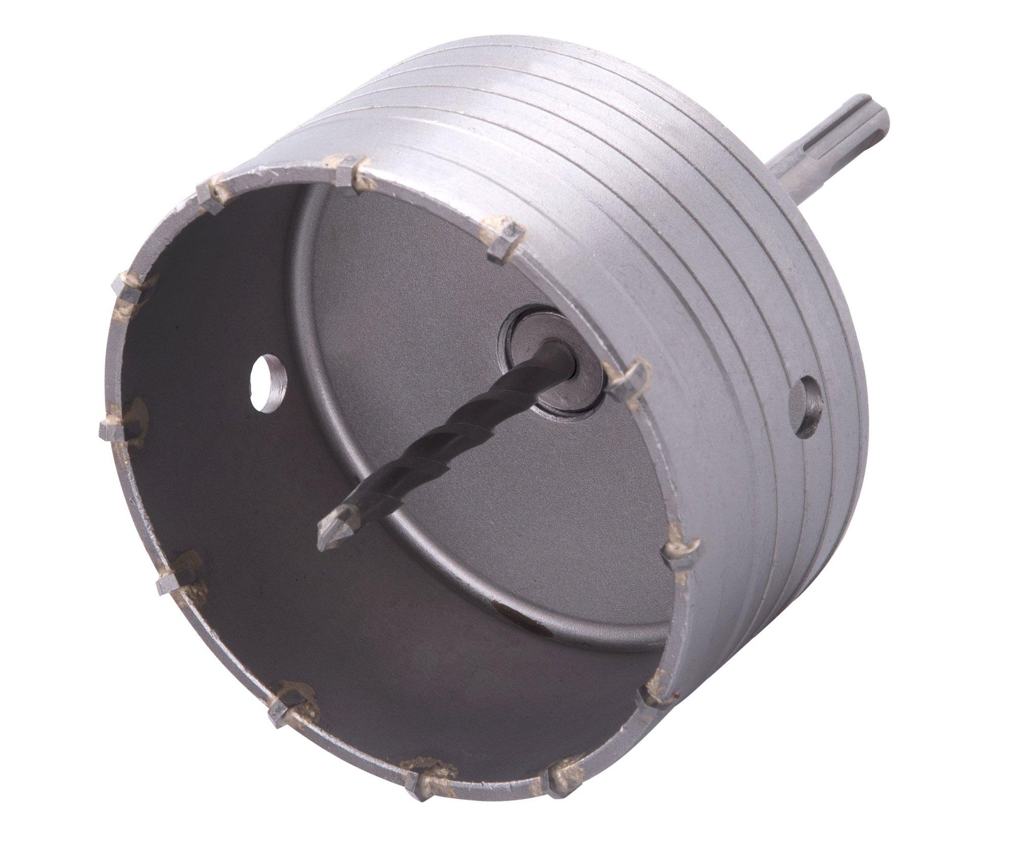 Vrták korunkový SDS Plus do zdi Extol Premium - 115mm