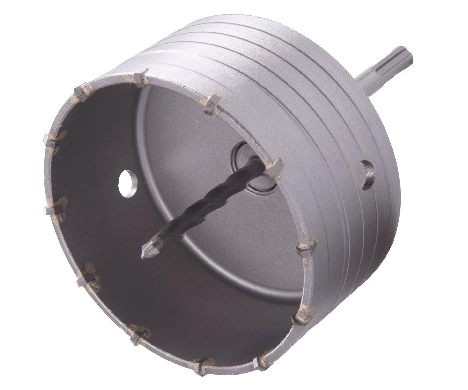 Vrták korunkový SDS Plus do zdi Extol Premium - 125mm