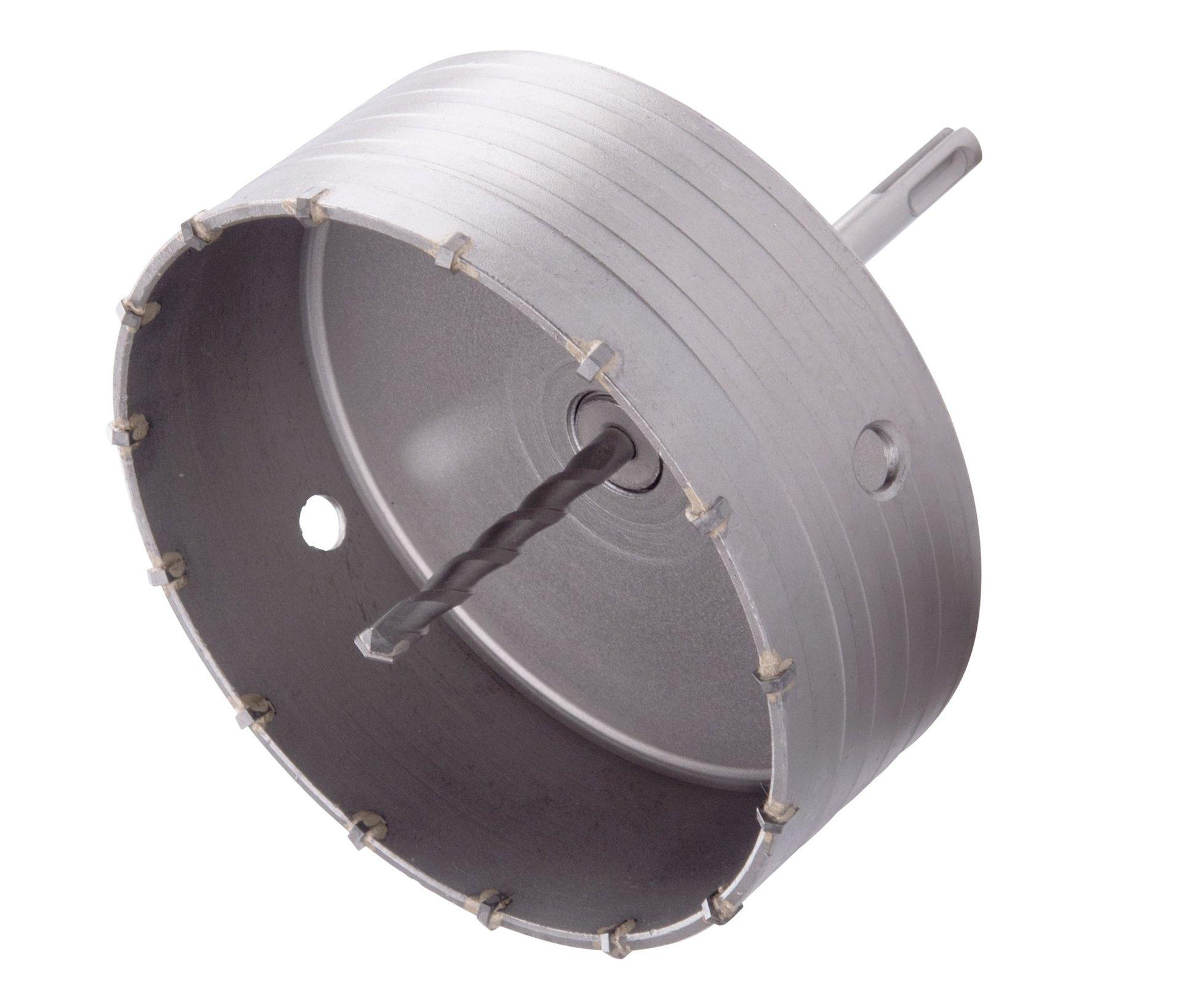 Vrták korunkový SDS Plus do zdi Extol Premium - 150mm