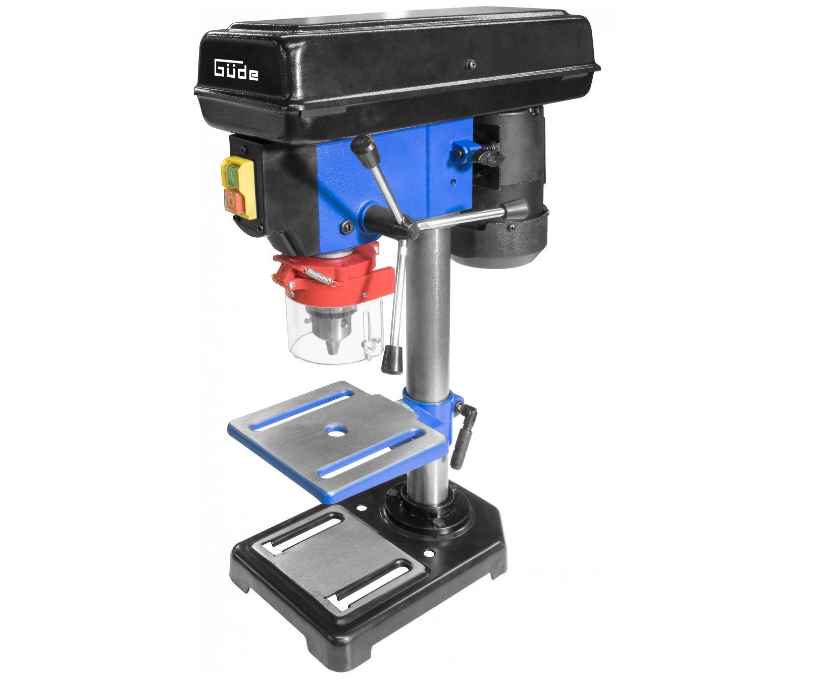 Güde GTB 16/550 stojanová vrtačka s laserem a svěrákem