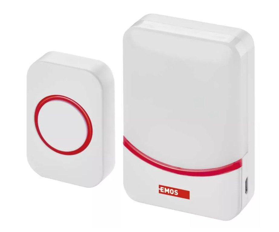 Domovní bezdrátový zvonek přenosný USB P5732