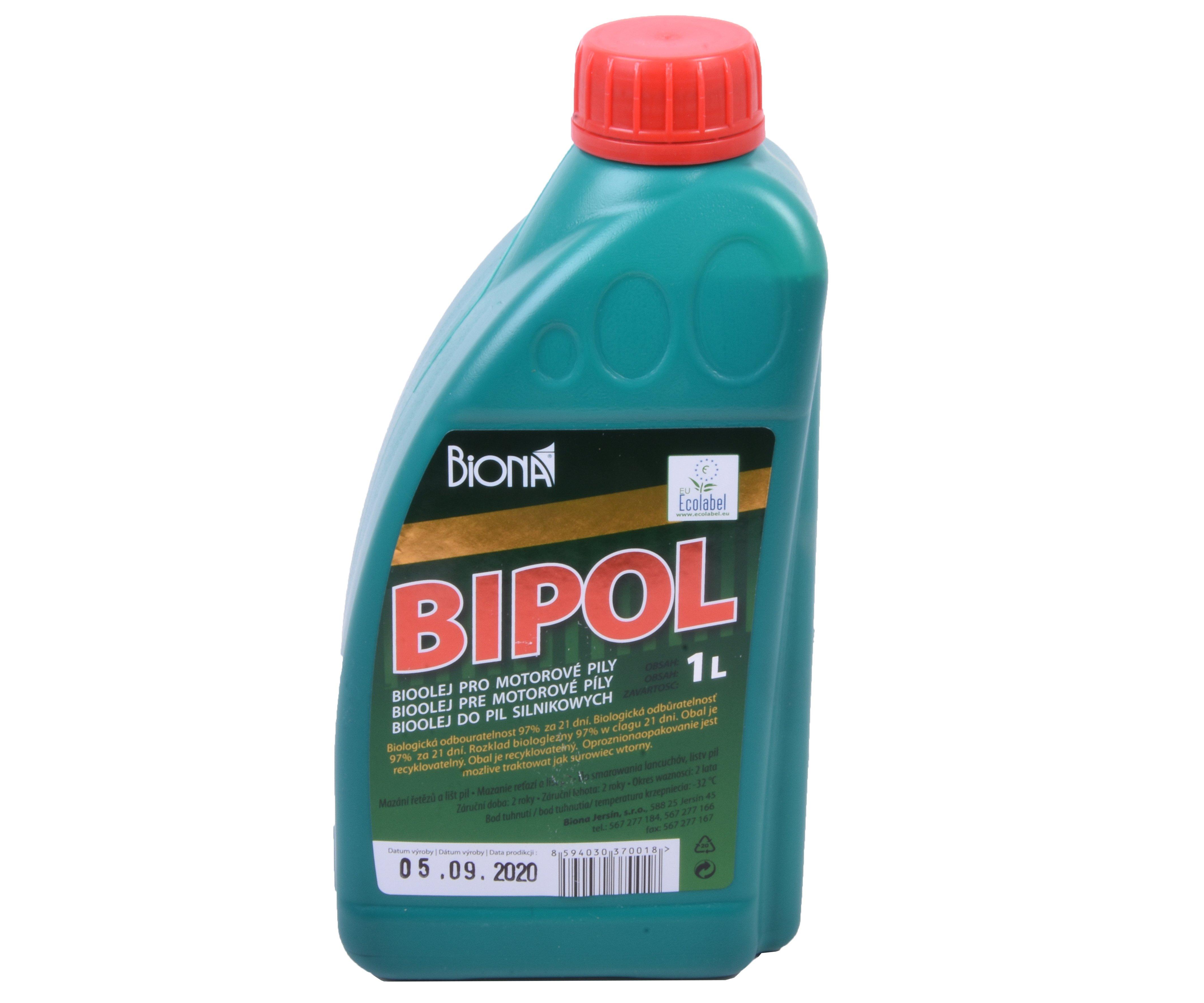 Olej na řetězové pily BIPOL 40 1l