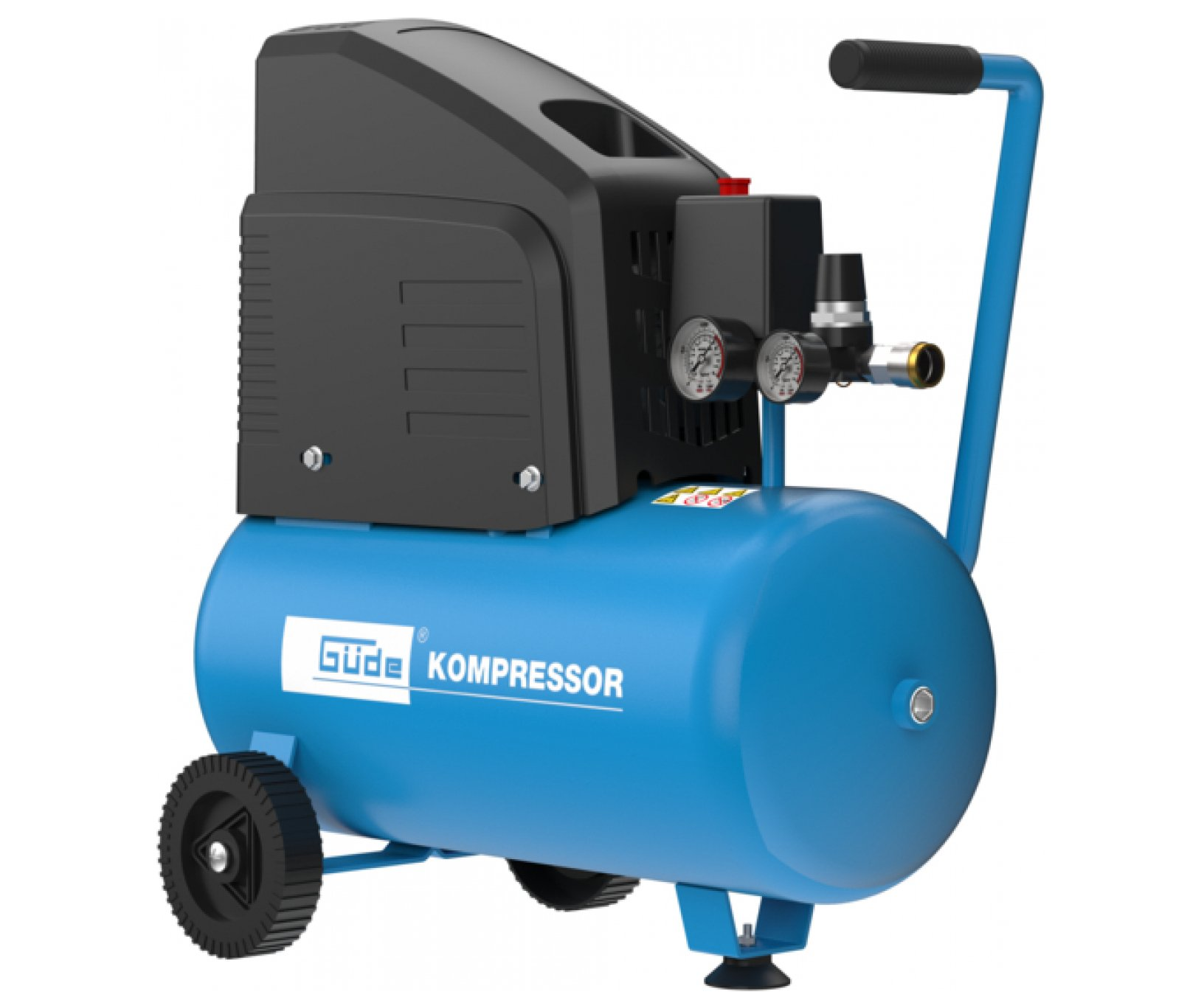 Güde 220/8/24 bezolejový kompresor 1500W s příslušenstvím