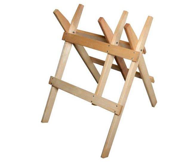 Stojan na řezání dřeva (koza) dřevěný