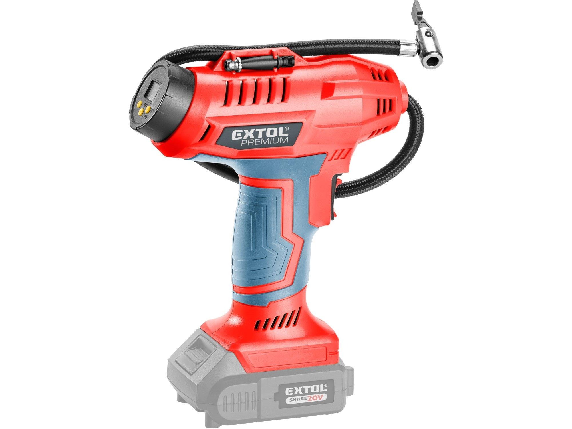 Extol Premium 8891875 SHARE20V aku kompresor bez aku