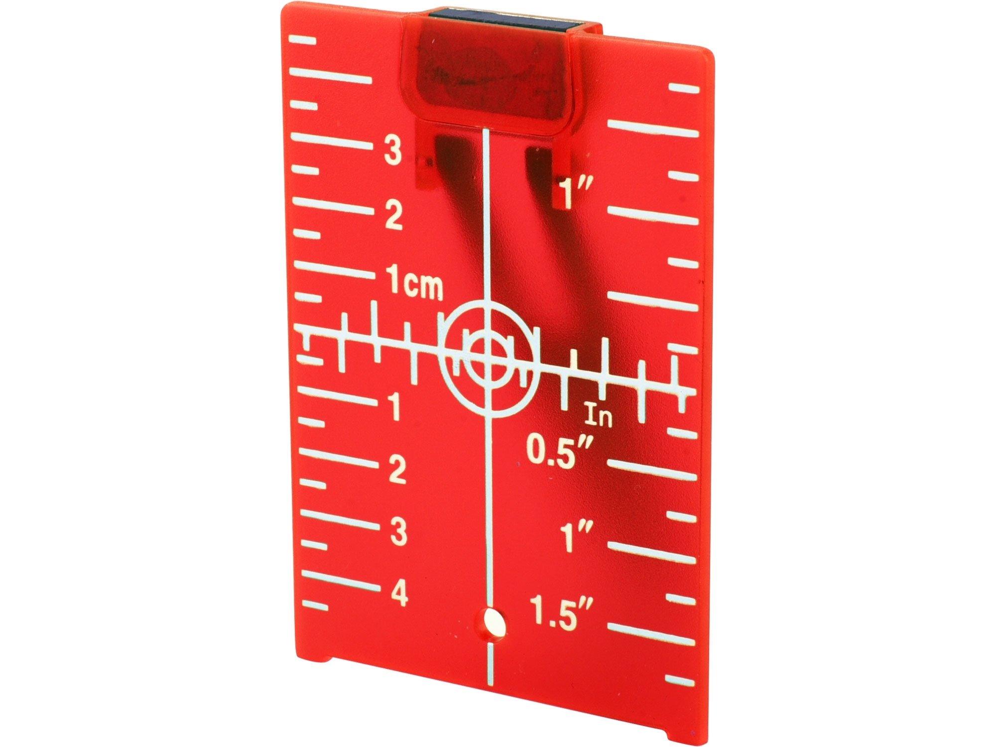 Terč reflexní pro lasery Extol Premium - 8823395 červený