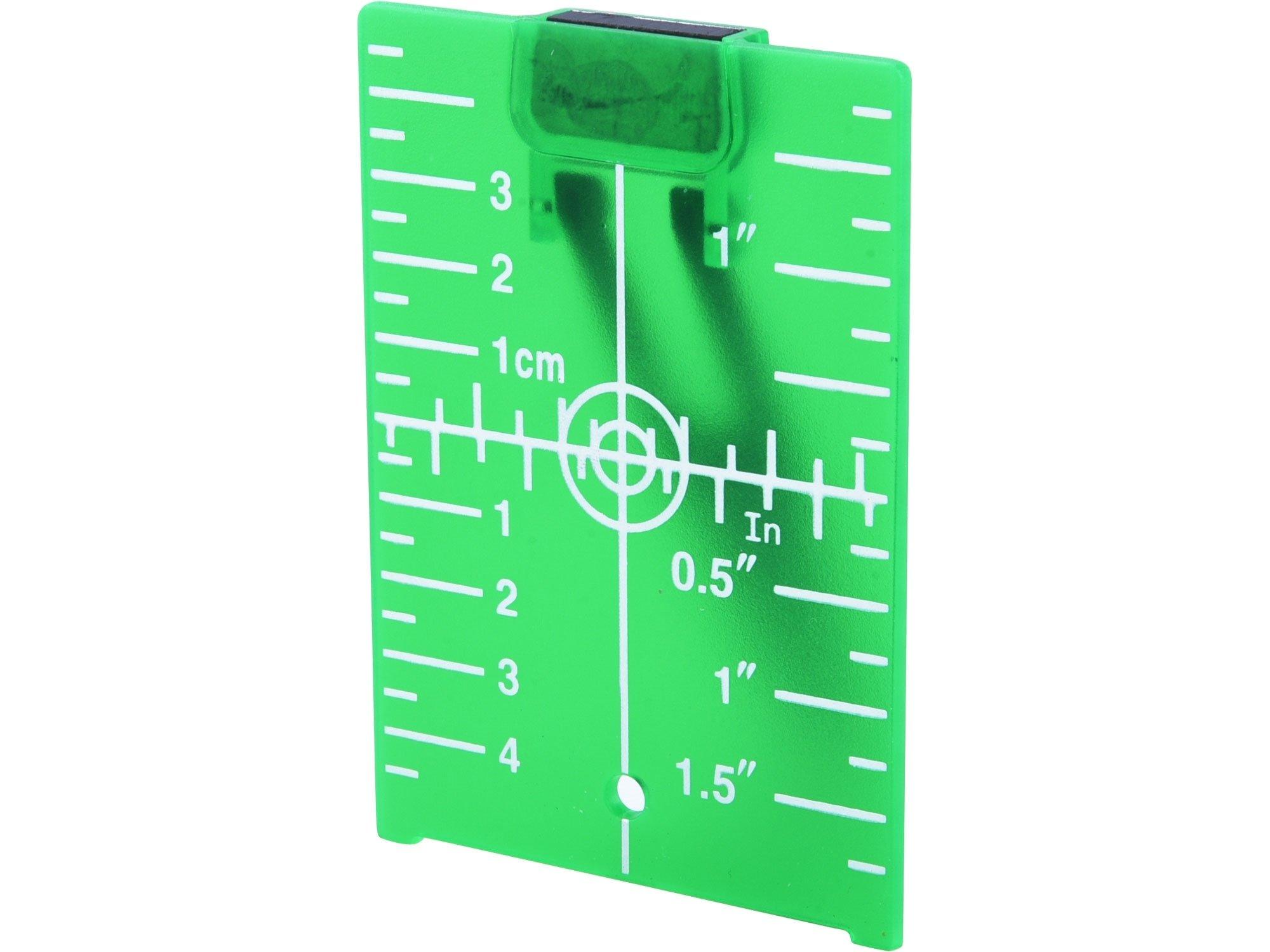 Terč reflexní pro lasery Extol Premium - 8823396 zelený