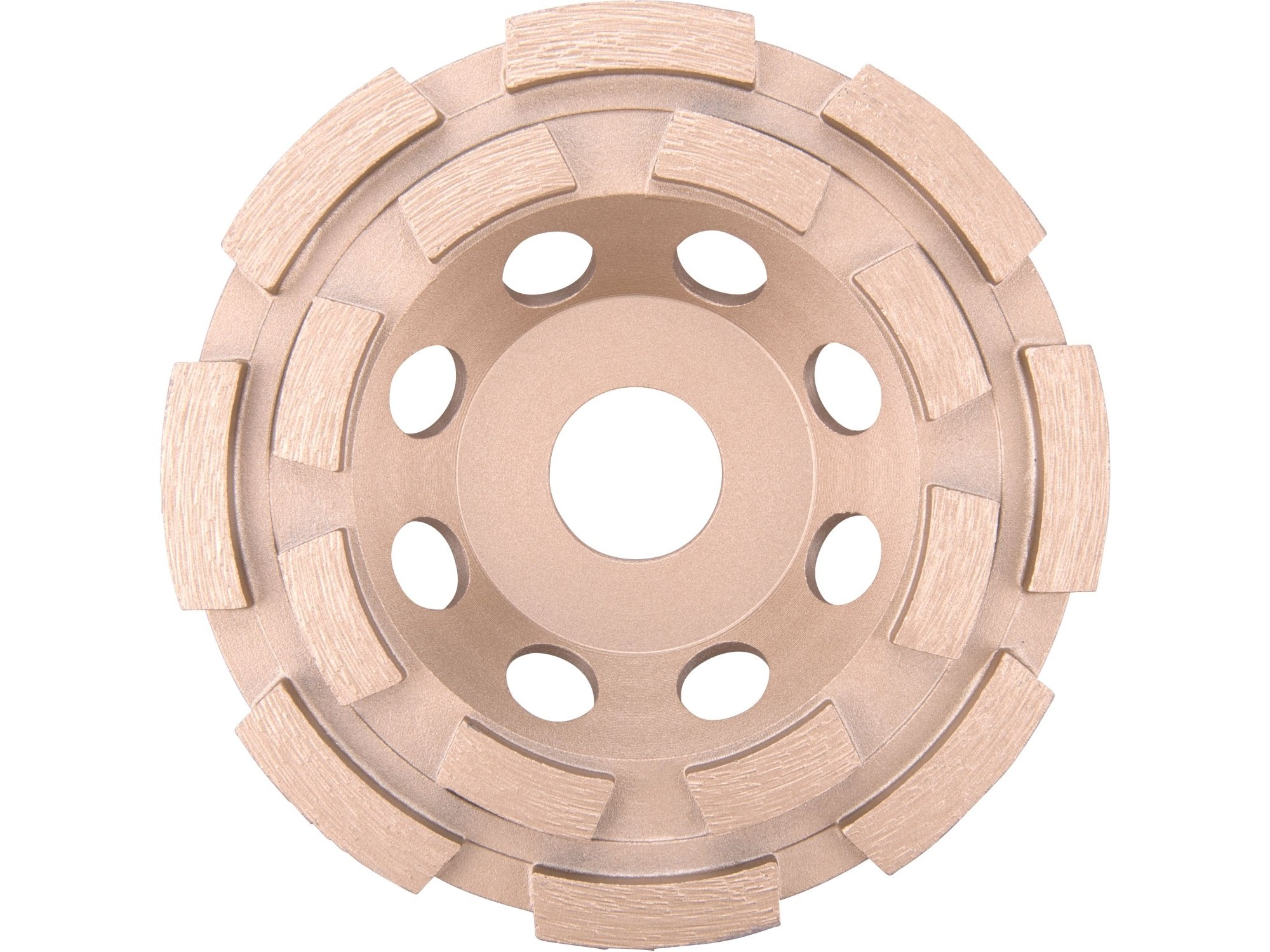 Diamantový brusný dvouřadý kotouč Extol Industrial - 8703121 115mm
