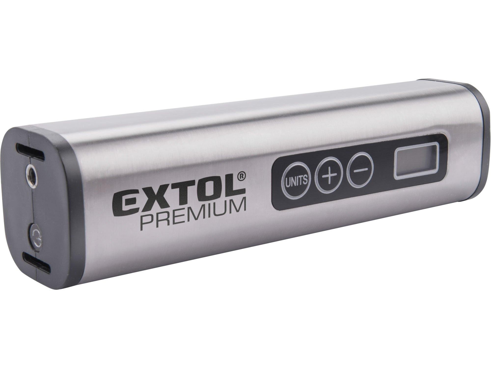 Extol Premium 8891510 aku kompresor 12/230V 5,5bar